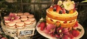 "One of the newer Trends ""Naked Cakes"""